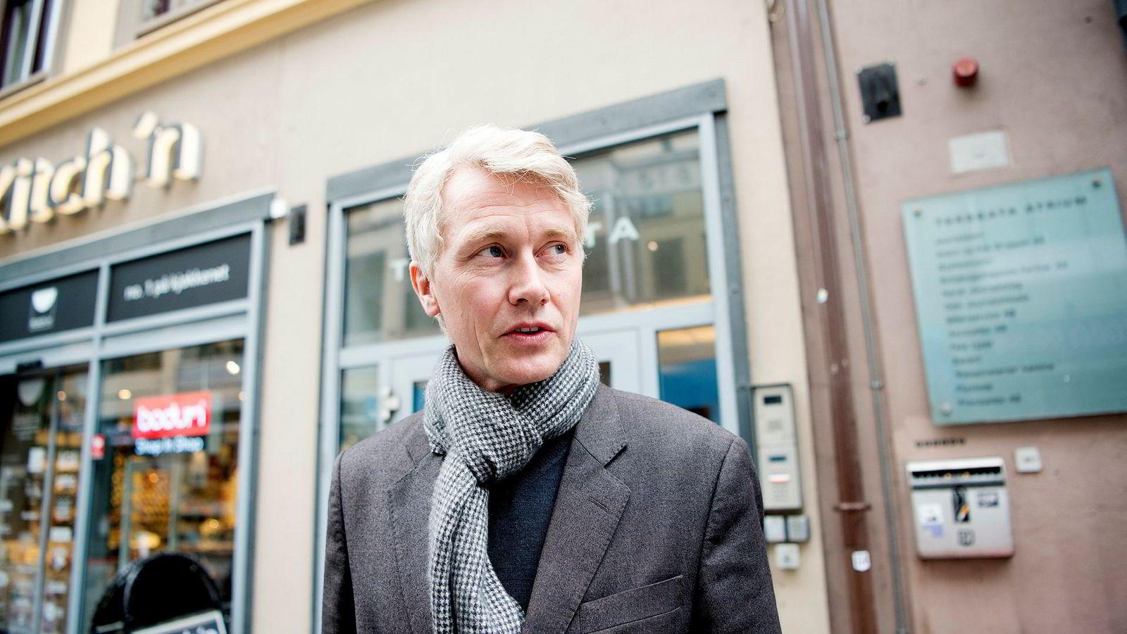 Olav T. Sandnes, administrerende direktør i TV 2.