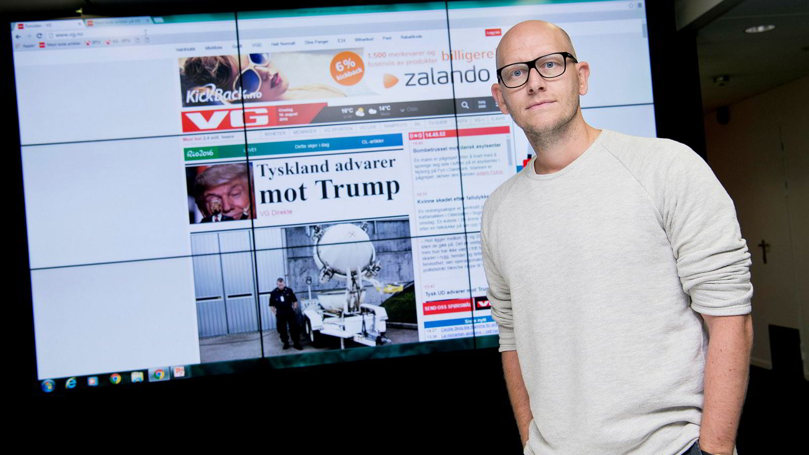 VGs egen granskningsrapport kommer neste uke, sier digitalredaktør Ola Stenberg.