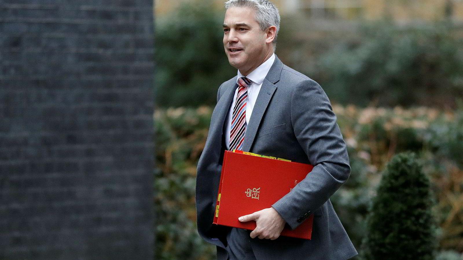Storbritannias brexitminister Stephen Barclay har vært på resultatløst møte med EU i Brussel.