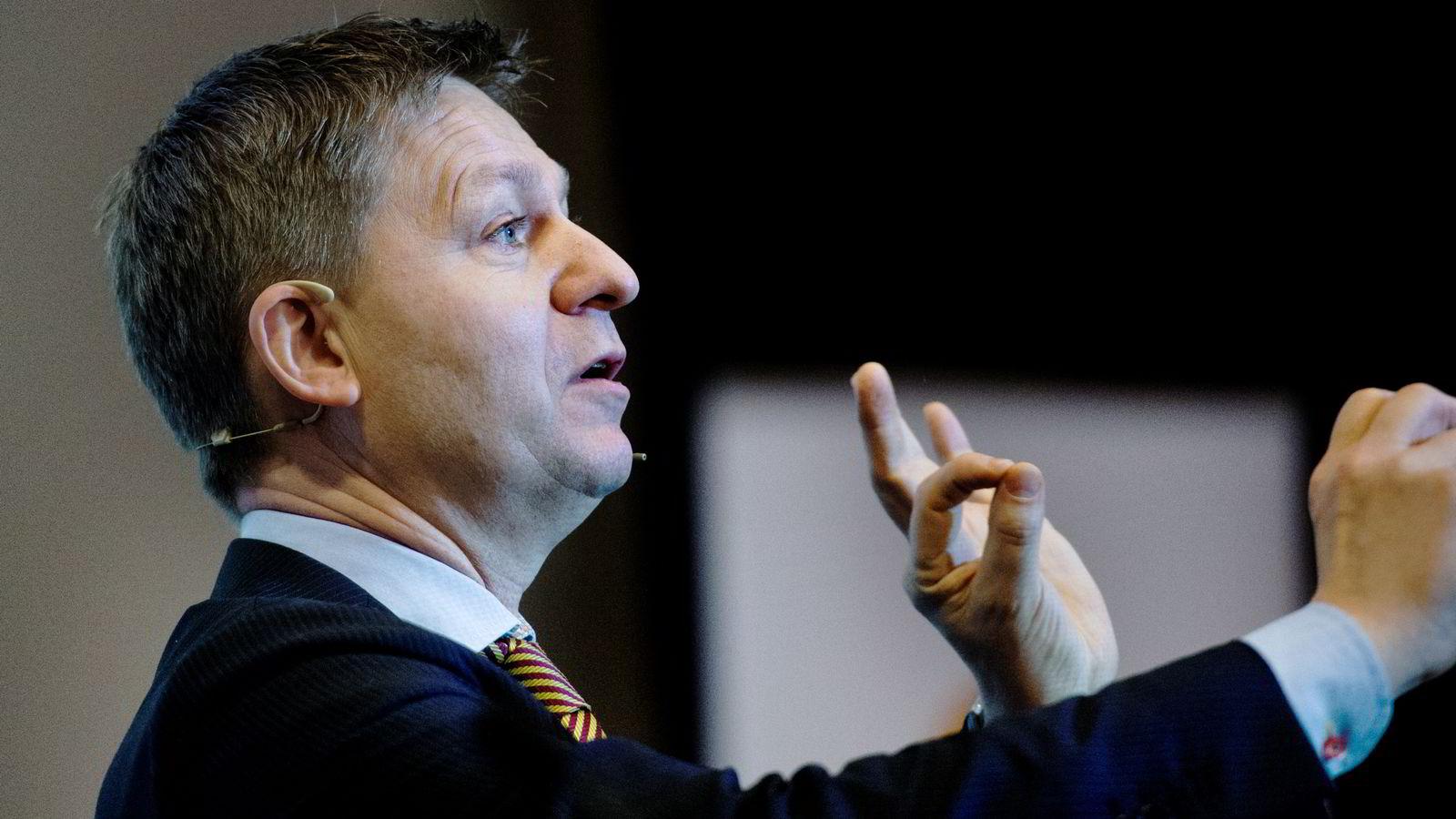 FORNØYD. Analysesjef Pål Ringholm mener Finanstilsynet har lagt frem et et «utmerket» forslag. FOTO:Hampus Lundgren