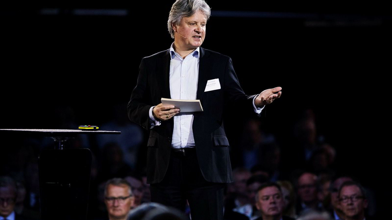 – Uten endringer er vi ikke her om ti til 15 år, sier konsernsjef Casper von Koskull i Nordea.