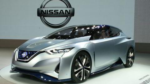 Kan neste generasjon Leaf få designtrekk fra denne konseptbilen? Foto: Newspress