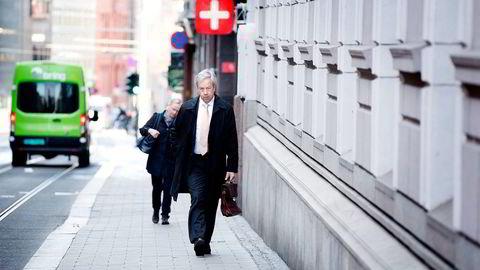 Eika Gruppen tror Norges Bank vil kutte renten i neste uke. Her sentralbanksjef Øystein Olsen. Foto: Per Ståle Bugjerde