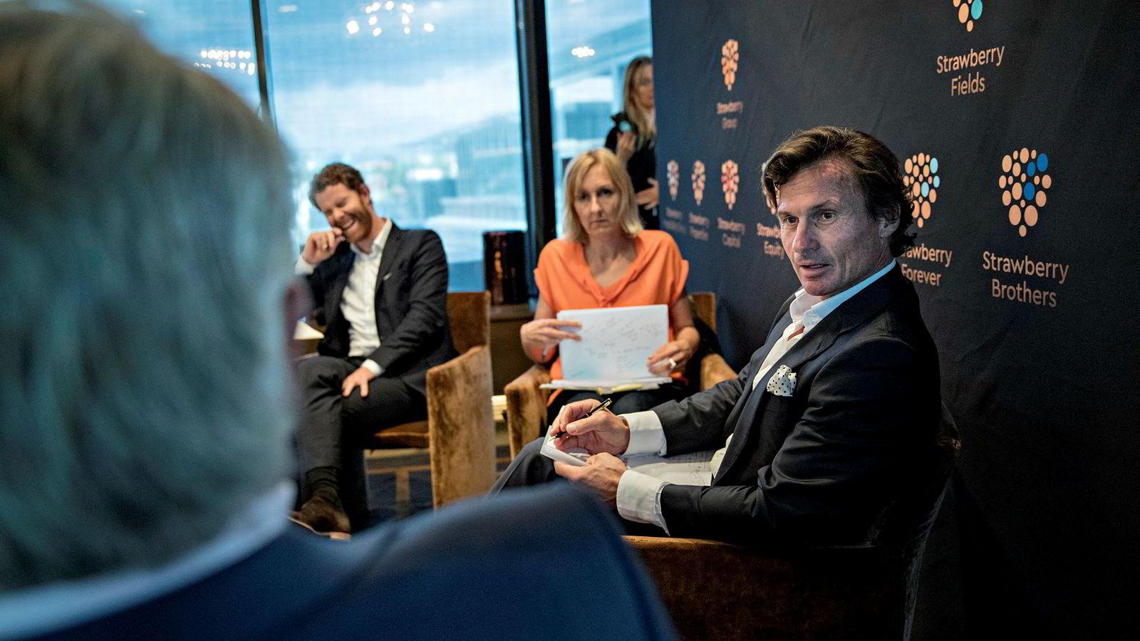 Petter Stordalen delte tidligere i år ut flere millioner kroner til norske gründere.