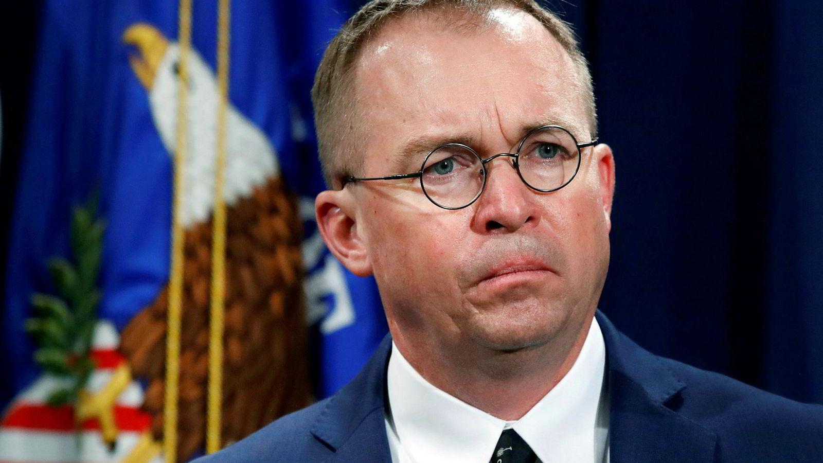 Mick Mulvaney, som både er fungerende stabssjef for president Donald Trump og leder for The Office of Management and Budget, er sentral i strategien med å bryte ned reguleringer og byråkrati ved å ta kontroll over institusjoner.