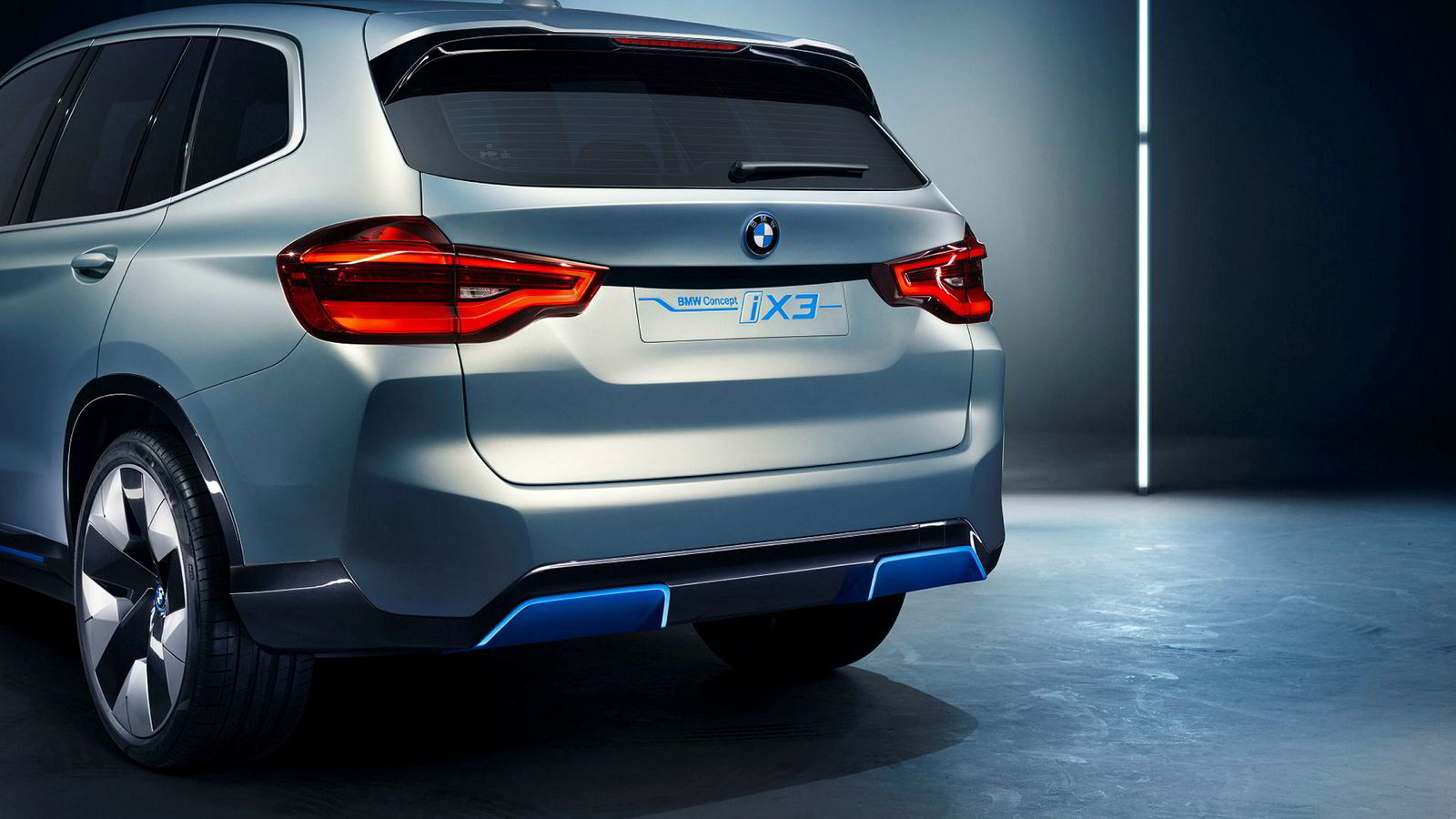 Endelig slipper BMW info om den elektriske iX3.