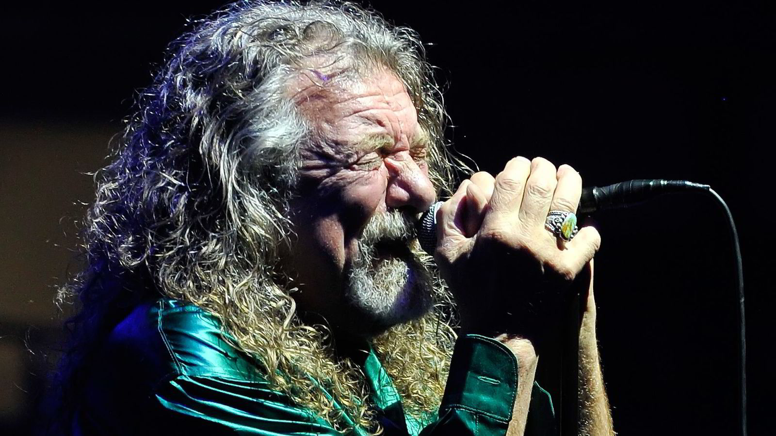 Tidligere Led Zeppelin-medlem Robert Plant trakk for lite publikum til Molde-Jazz. Foto: Vaclav Salek, AP/NTB Scanpix