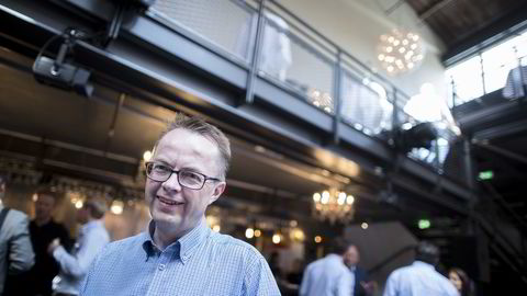 Forhandlingsdirektør Harald-Eide Fredriksen i mediebyrågruppen Dentsu Aegis Network. Foto: Gunnar Blöndal