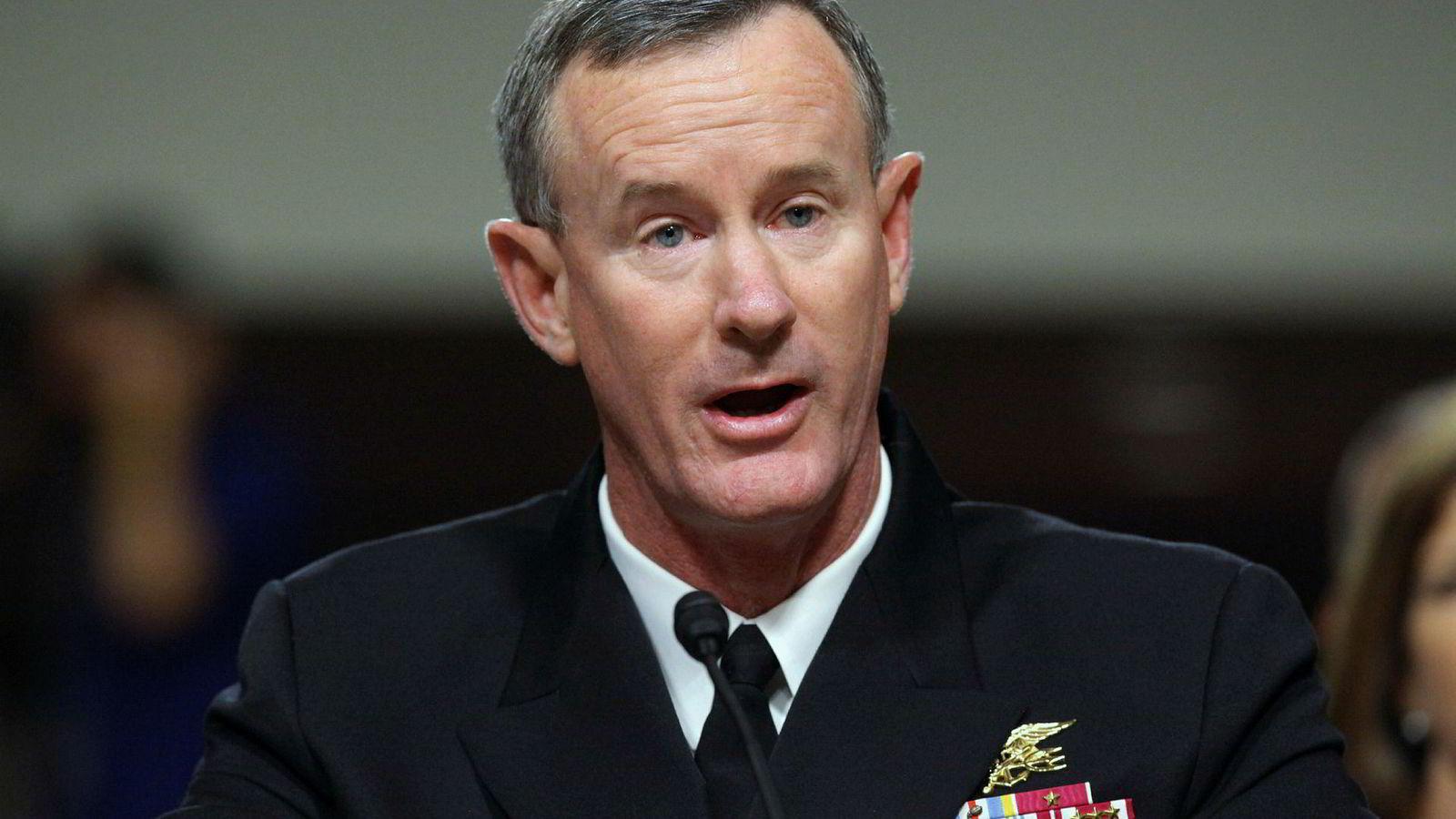 Pensjonert viseadmiral William McRaven har kritisert Trump-administrasjonen. Det lar ikke Donald Trump la gå upåaktet hen.