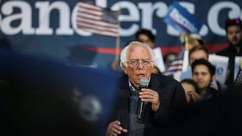 Demokraten Bernie Sanders er skrevet ut av sykehus, ifølge CNN. Han har hatt hjerteinfarkt. Foto: AP / NTB scanpix