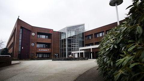 Subsea 7 sitt kontorbygg i Stavanger. Foto: Tomas Alf Larsen