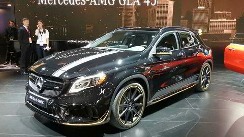 Mercedes-AMG pusser opp sin hissige GLA 45.