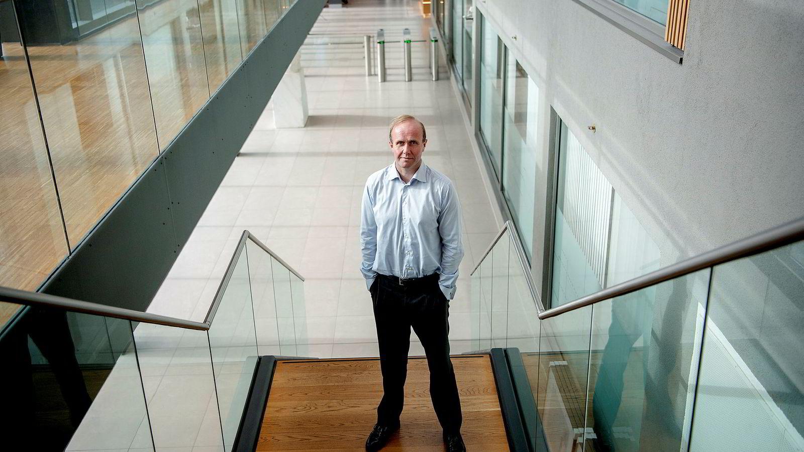 Forvalter Hans Thrane Nielsen i Storebrand mener amerikanske selskaper kommer til å fortsette å levere gode tall i 2019.