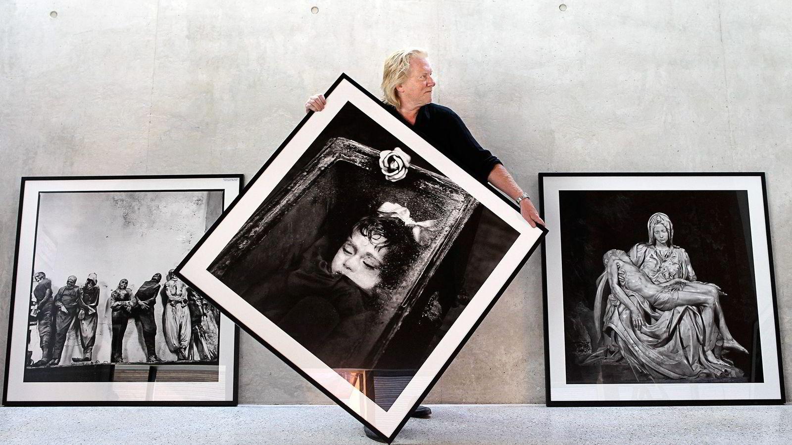 Fotograf Morten Krogvold sier han har tilstått og ordnet grundig opp i forholdene. – Jeg tar den straff som samfunnet mener jeg fortjener, sier Krogvold. Foto: Trond Solberg/NTB Scanpix
