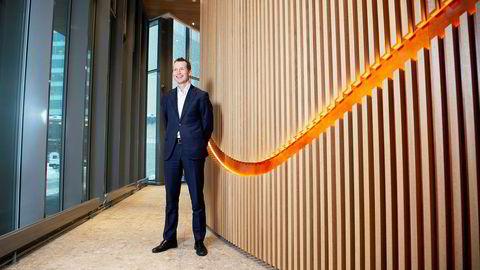 Leder Thorodd Bakken for storkundeområdet i Nordea er overrasket over stor låneiver i bedriftene. – Når Norge går bra, så går det også godt for oss, sier han.