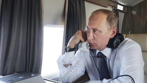 Alle økonomiske indikatorer peker nå feil vei for Russland. Internasjonalt står president Vladimir Putin lavere i kurs enn noen gang. Foto: Ria Novosti, Reuters/NTB Scanpix