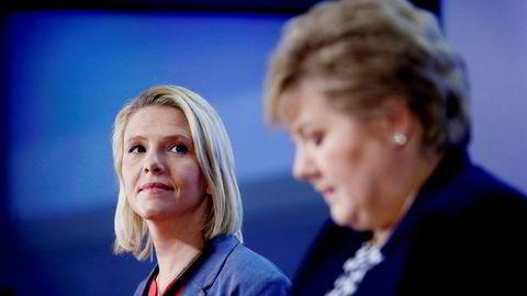 Statsminister Erna Solberg (H) ba allerede lørdag justisminister Sylvi Listhaug (Frp) om å beklage det omstridte Facebook-innlegget fordi hun mente det var langt over streken for hva en statsråd kan tillate seg i en politisk debatt.