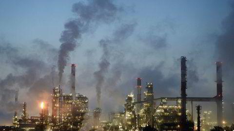 Et av årets store oppkjøp er franske Totals kjøp av olje- og gassvirksomheten til det danske konglomeratet A.P. Møller Mærsk forrige måned. Prislappen kom på 7,45 milliarder dollar. Her er en av Totals raffinerier i Donges, vest i Frankrike.