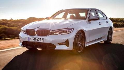 BMW 330e kommer i ny generasjon med 60 kilometer elektrisk rekkevidde.