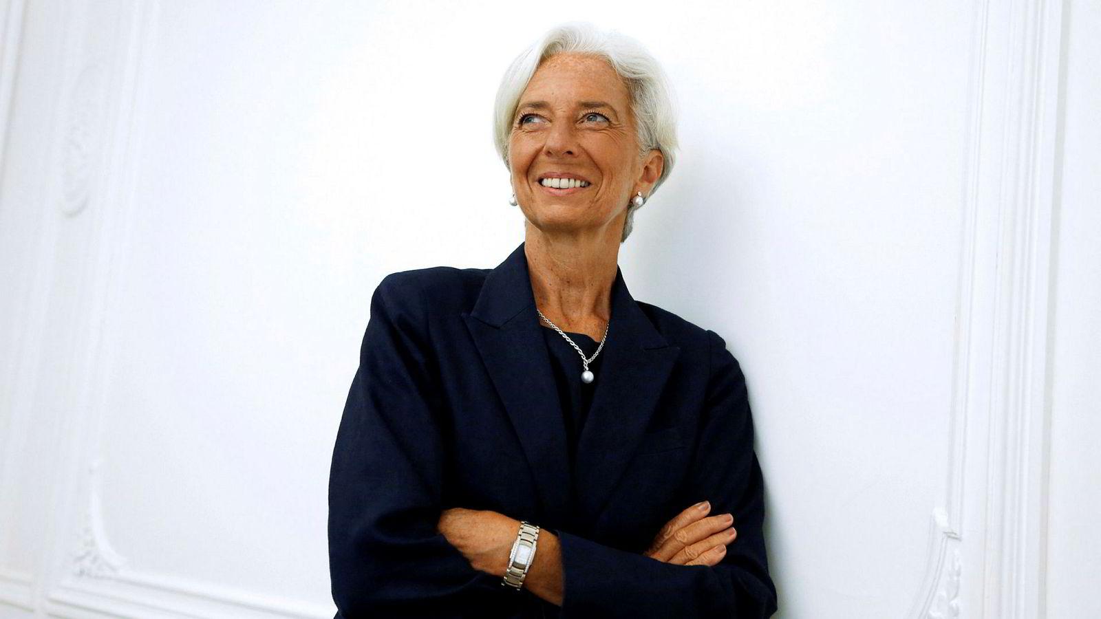 Franske Christine Lagarde (63), blir ny president i Den europeiske sentralbanken ECB.