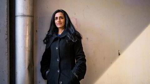 Teknolog. Ayesha Khanna etterlyser et land som kan ta lederskapet innen utvikling av kunstig intelligens. Nylig var hun i Norge og holdt innlegg på NHOs årskonferanse