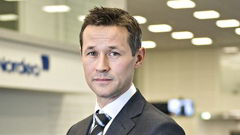 Pressesjef i Nordea, Christian Steffensen. Foto: Nordea