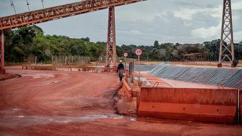 Fra Alunorte, Hydros aluminiumsraffineri Barcarena, Brasil.