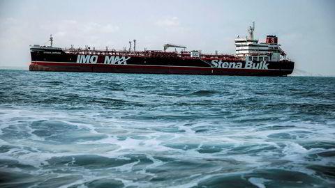 Stena Impero ble stanset av den iranske Revolusjonsgarden da det var på vei gjennom Hormuz-stredet 19. juli. Tankskipet måtte deretter gå til land i den iranske havnebyen Bandar Abbas, der det siden har ligget.