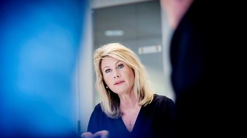 Rektor Tine B. Widerøe ved Westerdals Oslo ACT.
