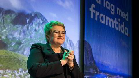 Et splittet Venstre sa nei til salg av narkotika. Men Trine Skei Grande ble enstemmig gjenvalgt på partiets landsmøte i helgen. Foto: Junge, Heiko/NTB Scanpix