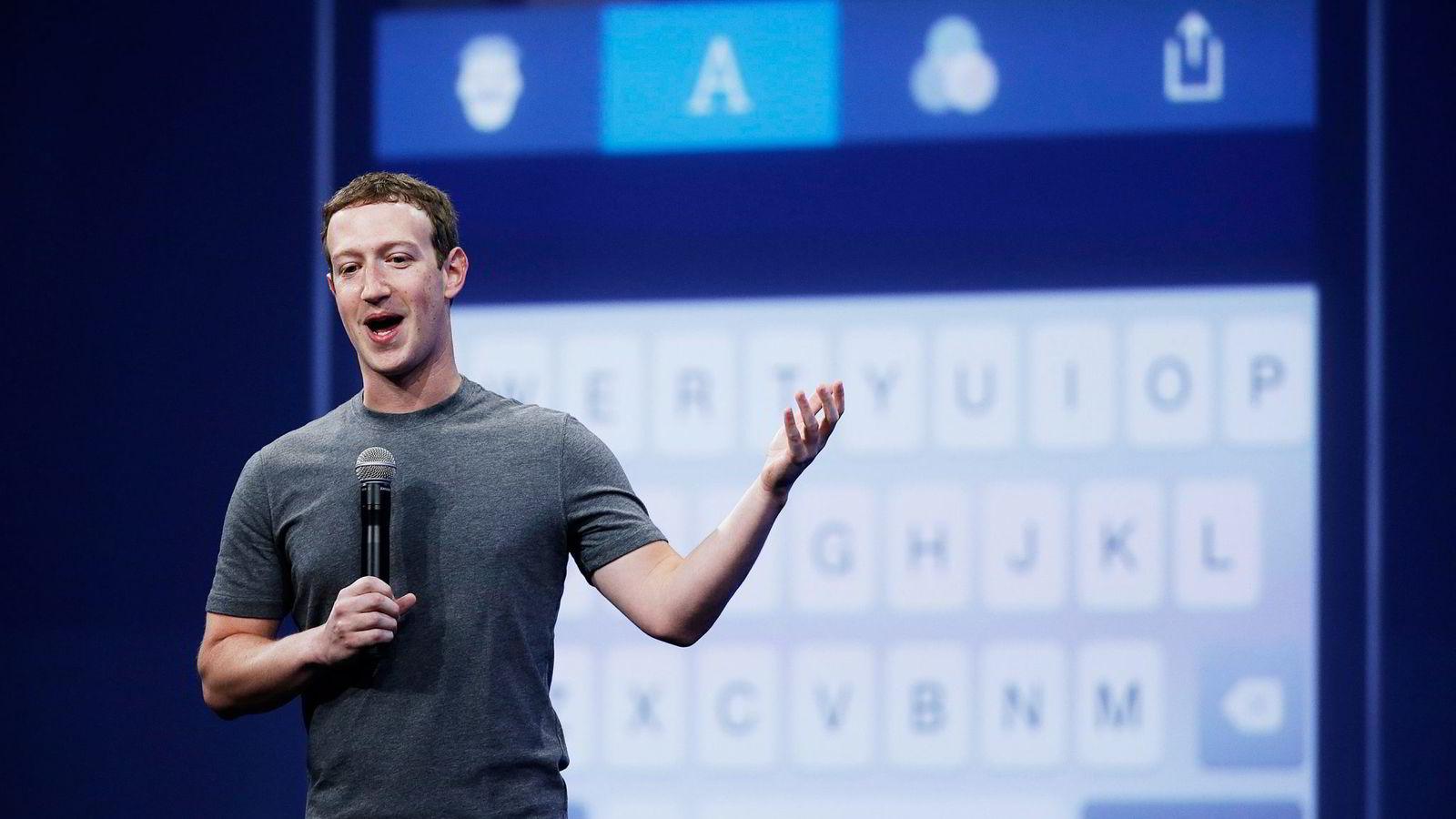 Hvordan få jobb hos Mark Zuckerbergs (bildet) Facebook? Vær hyggelig, tipser rekrutteringssjef Edel Murray ved selskapets internasjonale hovedkontor i Dublin. Foto: Eric Risberg, AP/NTB Scanpix