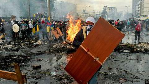 Etter uker med demonstrasjoner og opptøyer inngikk Ecuadors president og urbefolkningsledere søndag en «fredsavtale».