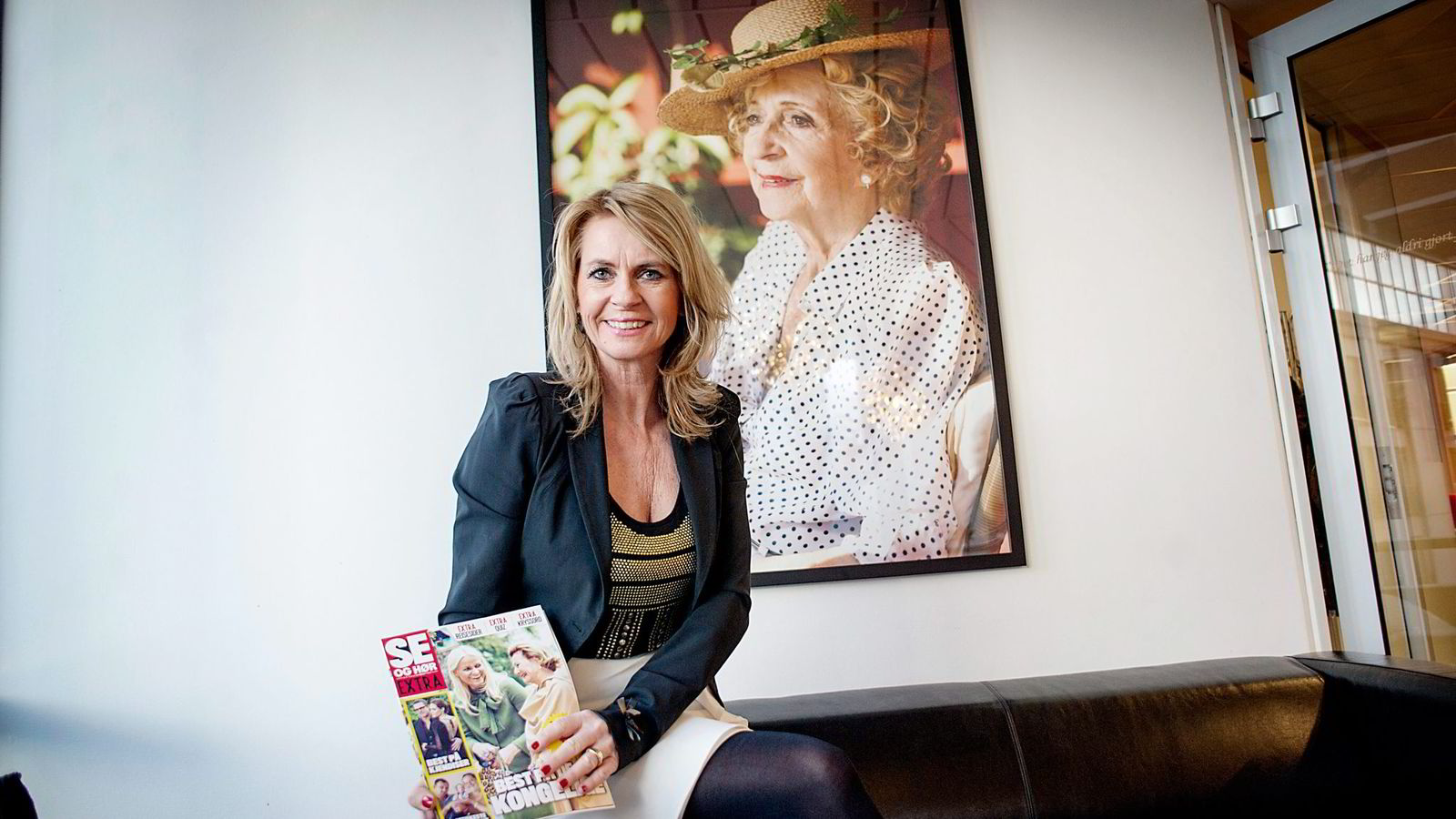 Redaktør Ellen Arnstad i Se og Hør må se opplaget fortsette det bratte fallet.