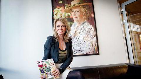 Redaktør Ellen Arnstad i Se og Hør må se opplaget fortsette det bratte fallet.   Foto:   Mikaela Berg