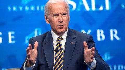 Tidligere visepresident Joe Biden er populær i det demokratiske partiet.