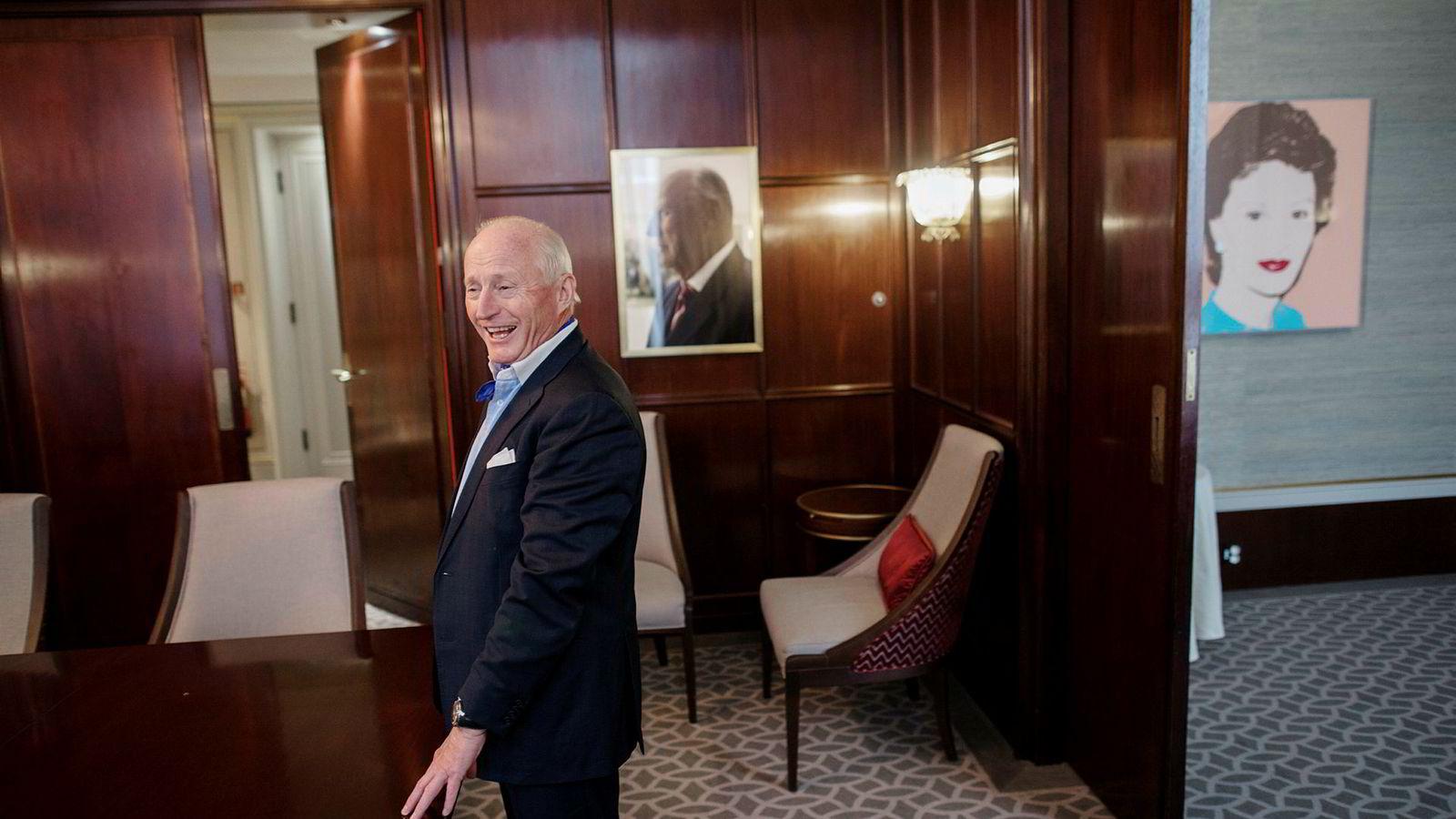 Christian Ringnes samler nå eiendomsinvesteringene i Victoria Eiendom. Her fra Grand Hotel.