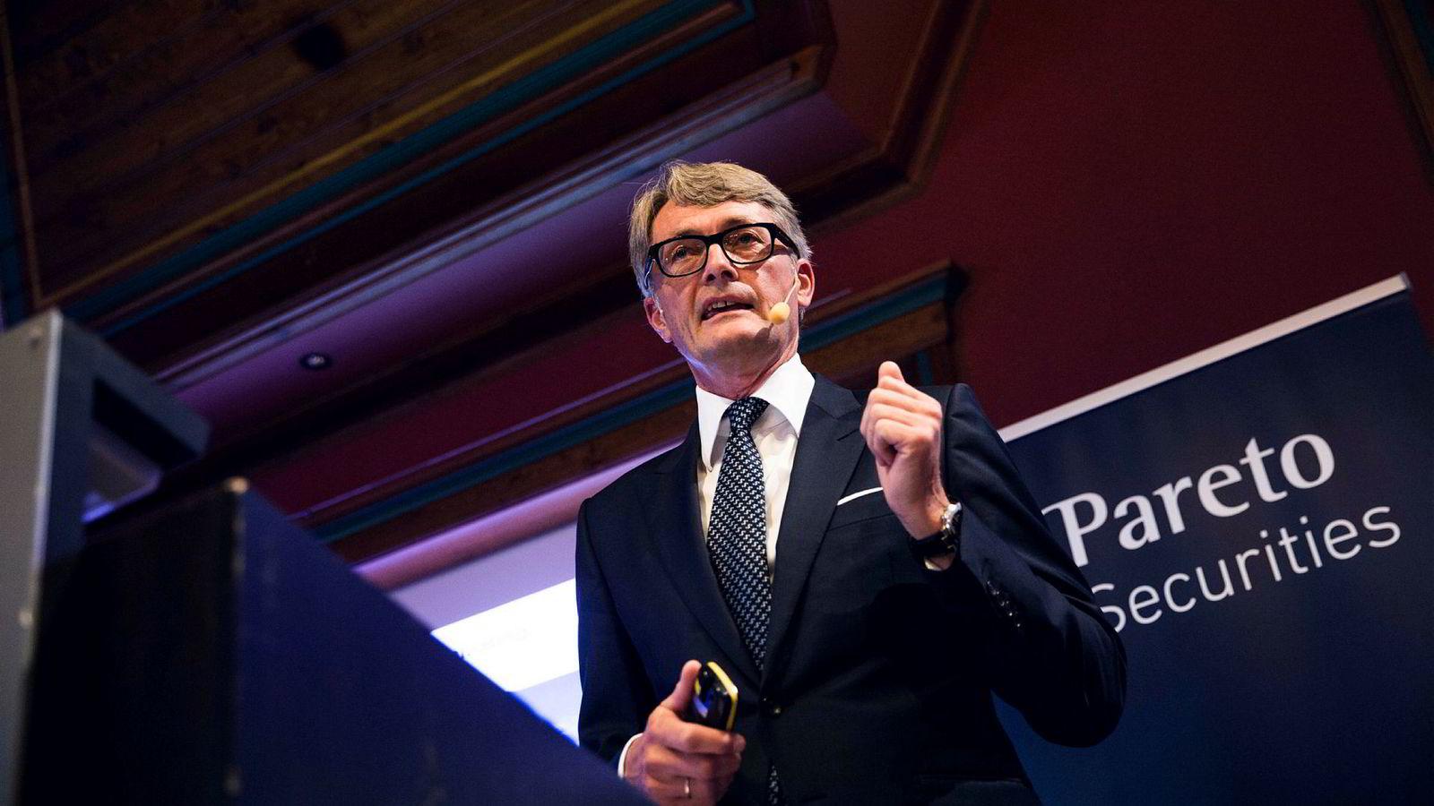 Aker-sjef Øyvind Eriksen sier at selskapet var for tidlig ute med å investere i Solstad Offshore.