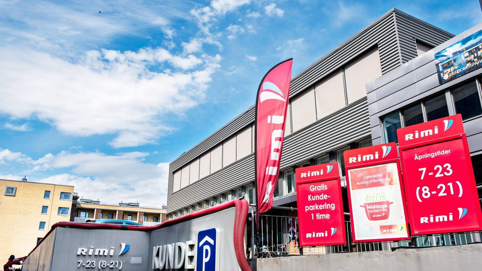 2c8e3f97 Butikklokalene på Skøyen har vært gjenstand for en dragkamp mellom Bunnpris  og Rema. Ringnes-