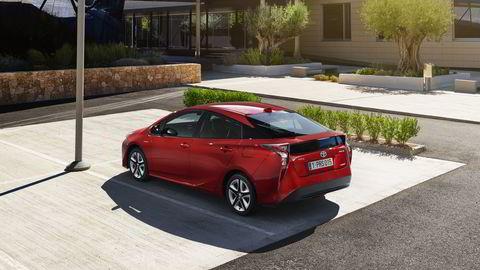 Toyota Prius i fjerde generasjon. Foto: Toyota