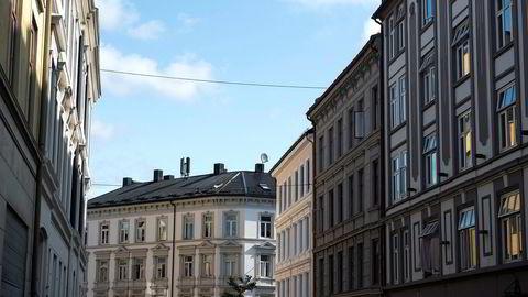 Mens prisene i Norge sett under ett gikk noe under prisantydning i juli, fortsatte de oppover i Oslo.