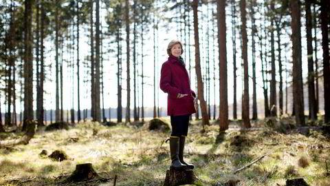 Skogeieren Mille-Marie Treschow døde lørdag kveld.