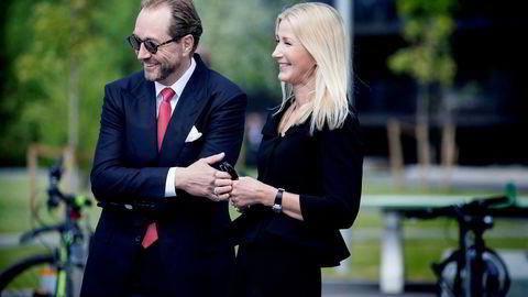 Anne Grete Eidsvig står oppført med en formue på nær en halv milliard kroner etter ekteskapet med Kjell Inge Røkke.