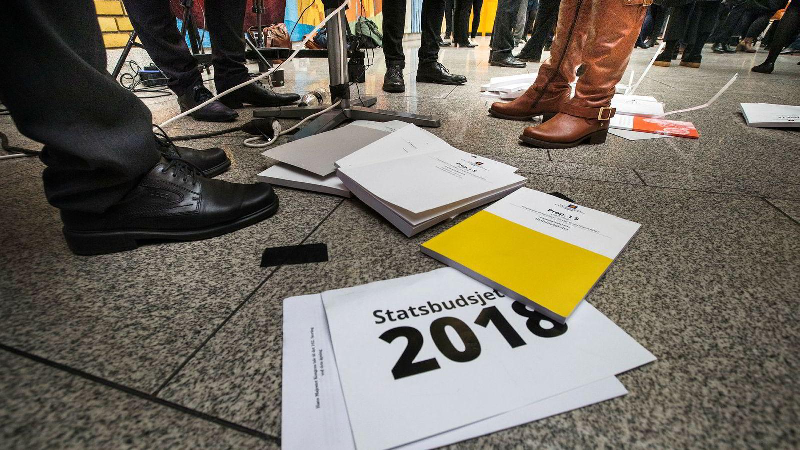 Hvordan påvirker Statsbudsjettet 2018 lommeboken din