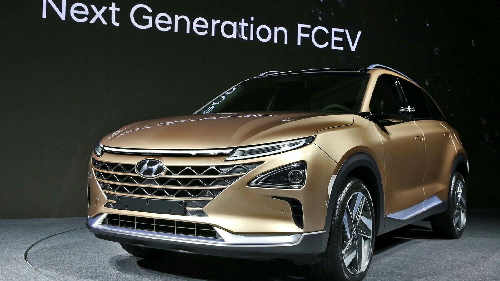 Neste generasjon fuel cell suv fra Hyundai.