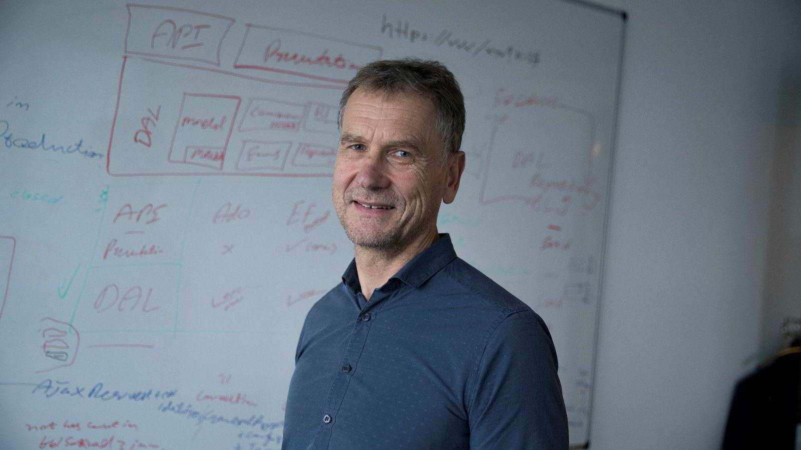 – Vi har ikke lansert Hudya Mobil før nå og har i høst hatt en testoperasjon, sier Pål Eivind Vegard, produktdirektør Hudya Mobil.