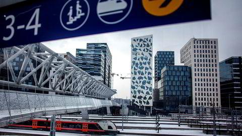 Togpendlerne rundt Oslo er minst fornøyde, ifølge NSBs kundetilfredshetsmåling.