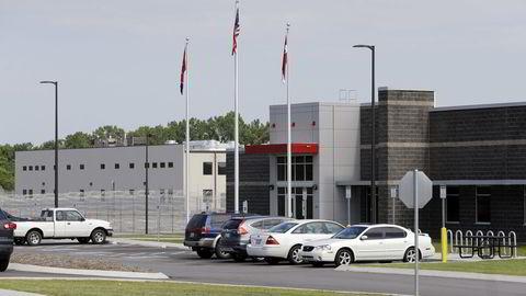 Det private fengselet Trousdale Turner Correctional Center i Hartsville Tennesee ble stengt for mottak av nye innsatte i mai i år, bare fire måneder etter det åpnet. Myndighetene avdekket alvorlige mangler ved vaktenes kontroll over de innsatte. Foto: Mark Humprey / AP / NTB SCANPIX