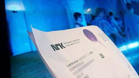 NRK henter inn nesten 100 millioner kroner ekstra i året fra sene lisensbetalere. Foto: Gunnar Blöndal