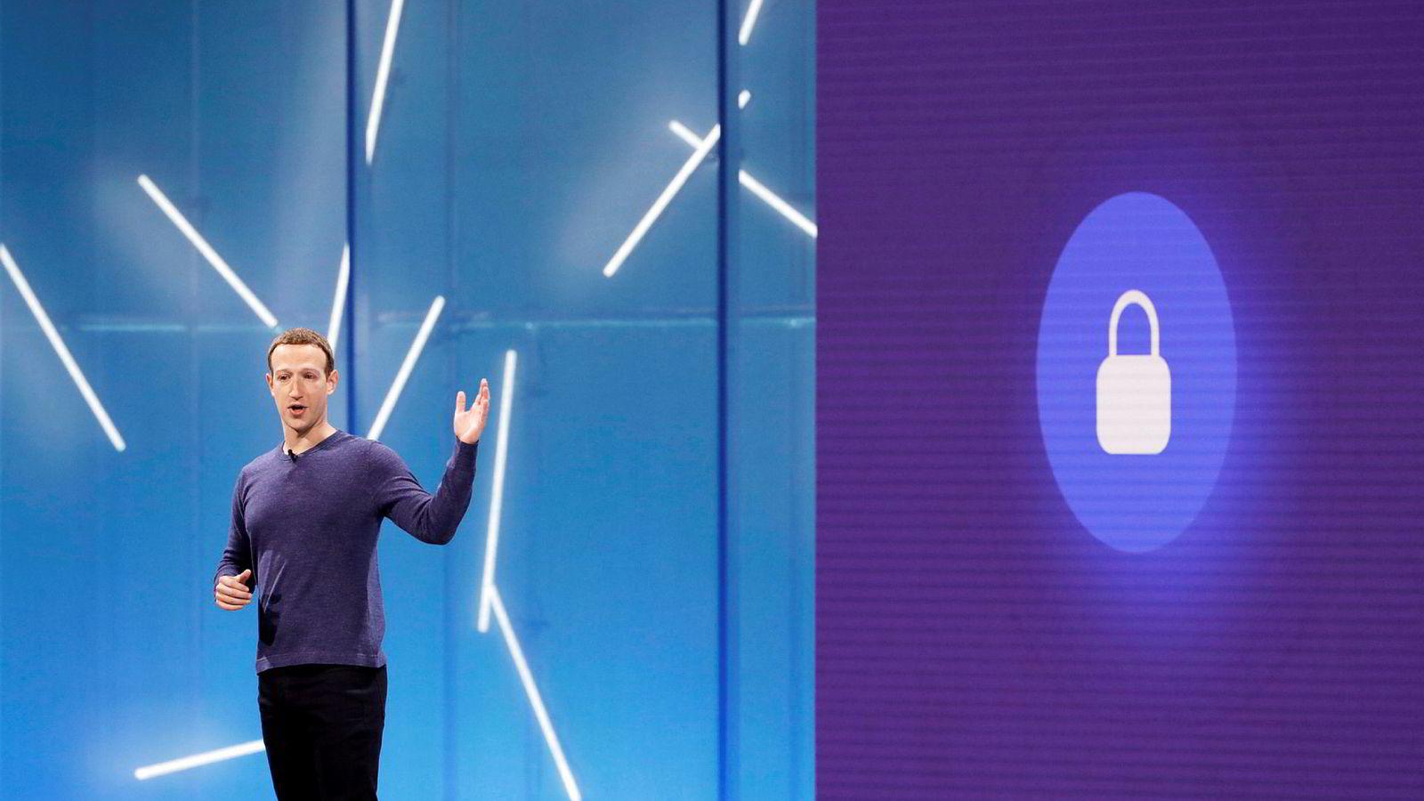 Facebook-sjef Mark Zuckerberg har fått mye kritikk for nettsamfunnets håndtering av personvern det siste året.