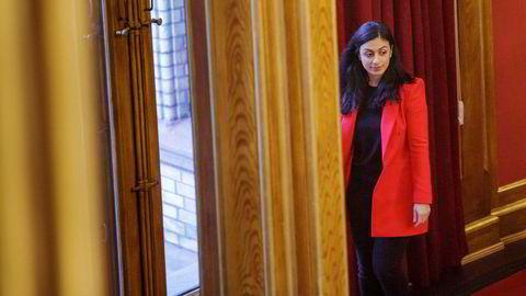 Ap-nestleder Hadia Tajik har lite å glede seg over i januarmålingen Sentio har utført for DN.